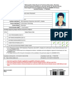 Exam Form Application of Candidate for (4)