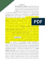 Nuevo Extracto escritura publica modificación y transformación Inversiones Musrri Ltda 20-11-2019