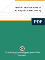 Audit of Not for Profit Organizations