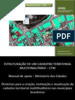 Cadastro Territorial Multifinalitário - CTM Apresentação CBCN