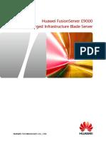 Huawei - Datasheet - E9000 Blade Server