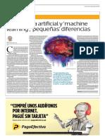Inteligencia Artificial y Machine Learning, Pequeñas Diferencias