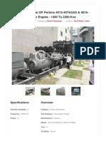Vendaxo_9 Set of Perkins 4012-46TAG2A & 4016-61TRG2 Generator Engine - 1500 to 2200 Kva