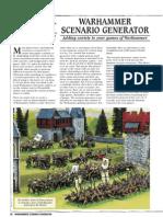 Warhammer Scenario Generator