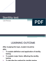 6. Sterility Test