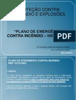 plano de emergência contra incêndio