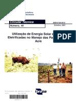 Utilização de Energia Solar e Cercas Eletrificadas no Manejo das Pastagens no Acre