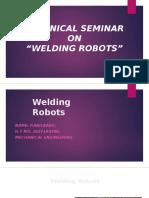 technical seminor.welding robot.odp