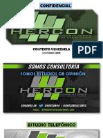 Estudio Telefonico Nacional Hercon Noviembre 2019