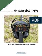 Manual Metalloiskatel Golden Mask 4wd Pro Ws105 Teleskop