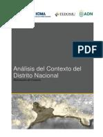 Borrador Analisis Del Contexto Del Distrito Nacional-ADN (30!07!16) Jul2016