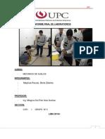 Informe Final de Laboratorios Meca de Suelos