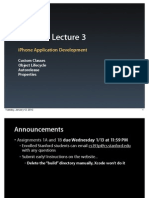 Lecture 3 Slides (January 12, 2010)