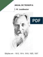 Um Manual de Teosofia - LeadBeater [FormatoA6]