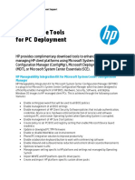 HP Tools for PC Deployment