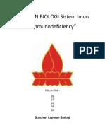 Laporan Biologi Sistem Imun
