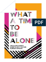 [2018] What a Time to Be Alone by Chidera Eggerue | The Slumflower's Guide to Why You Are Already Enough | Quadrille Publishing