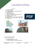 Imperioromano - Resumos 10º Ano
