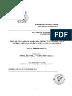 Manual de Elaboracion de Los Productos Lacteos en La Empresa Chelmar s.a. de c.v. en Saltillo, Coahuila-1