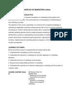 PRINCIPLES OF MARKETING Outline.docx