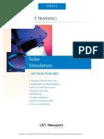 Solar Simulation