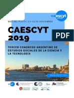 Programa CAESCYT 2019
