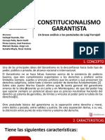 Constitucionalismo Garantista - UPSJB