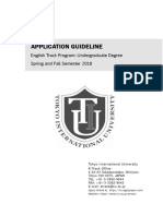 Application Guideline 2018
