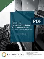 181212 Boletin Mercado Electrico Sector Generacion Chile Noviembre 2018