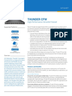 Thunder CFW High Performance Versatile Firewall