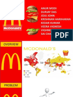 McDonald's Business analysis