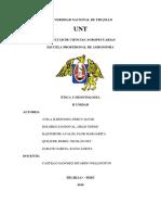 Etica y Deontologia- Temas II Unidad