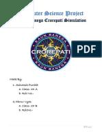 Kaun Banega Crorepati C++ Project