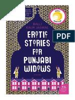 [2018] Erotic Stories for Punjabi Widows by Balli Kaur Jaswal | A Novel | William Morrow Paperbacks