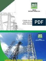 Brochure de Mega Estructuras