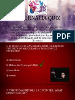 Saturnalia Quiz
