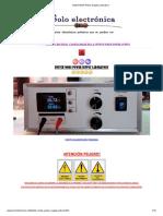 Switch Mode Power Supply Laboratory
