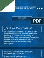 PARTE DOGMÁTICA Y PARTE ORGÁNICA DE LA CONSTITUCIÓN.pptx
