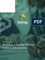 Building a Digital Process Center of Excellence