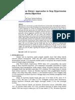Analisis Penerapan DASH Pada Penderita Hipertensi