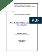 Apostila de E. Experimental No SISVAR