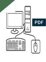 Computadora Dibujo