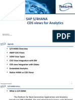 SAP S4HANA - CDS Views for Analytics.pptx