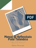 Resumo Manual Reflexologia Podal Tailandesa Curso Completo Mapa Pontos 561d