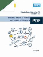 CCN-STIC 817 - ENS - Gestion ciberincidentes
