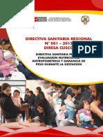 directiva nacional de atencion de gestantes