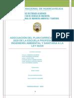 p12 Diseño Curricular de La Escuela Profesional de Ingeniería Ambiental y Sanitaria