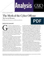 The Myth of the Cyber Offense