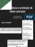 OKBR - Camille Moura - Proteção de Dados