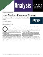 How Markets Empower Women